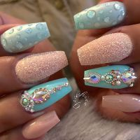 Metallic Nail Designs for 2018  Nail Art Ideas - Fashionre