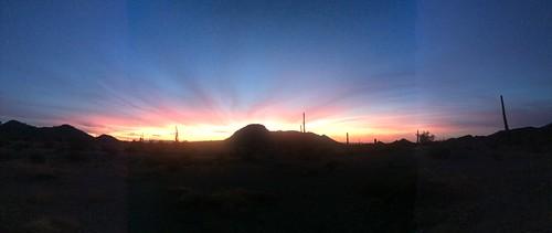 BGAFR -  gate 15 campground sunset