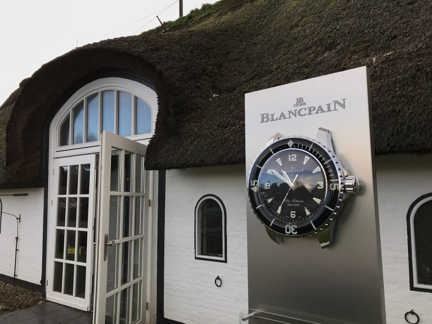 At the Sylt Gourmet Festival with Blancpain