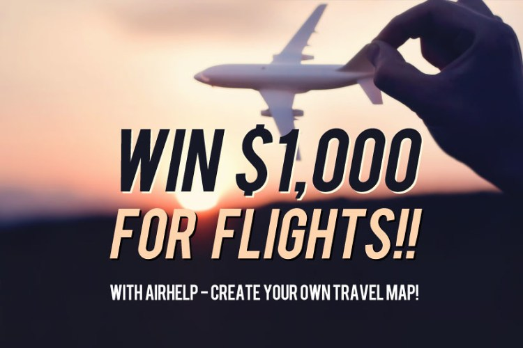 AirHelp Create Your Travel Map And Win Every World - Make your own travel map