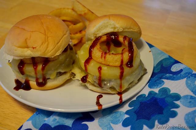 Hawaiian Black Bean Burgers