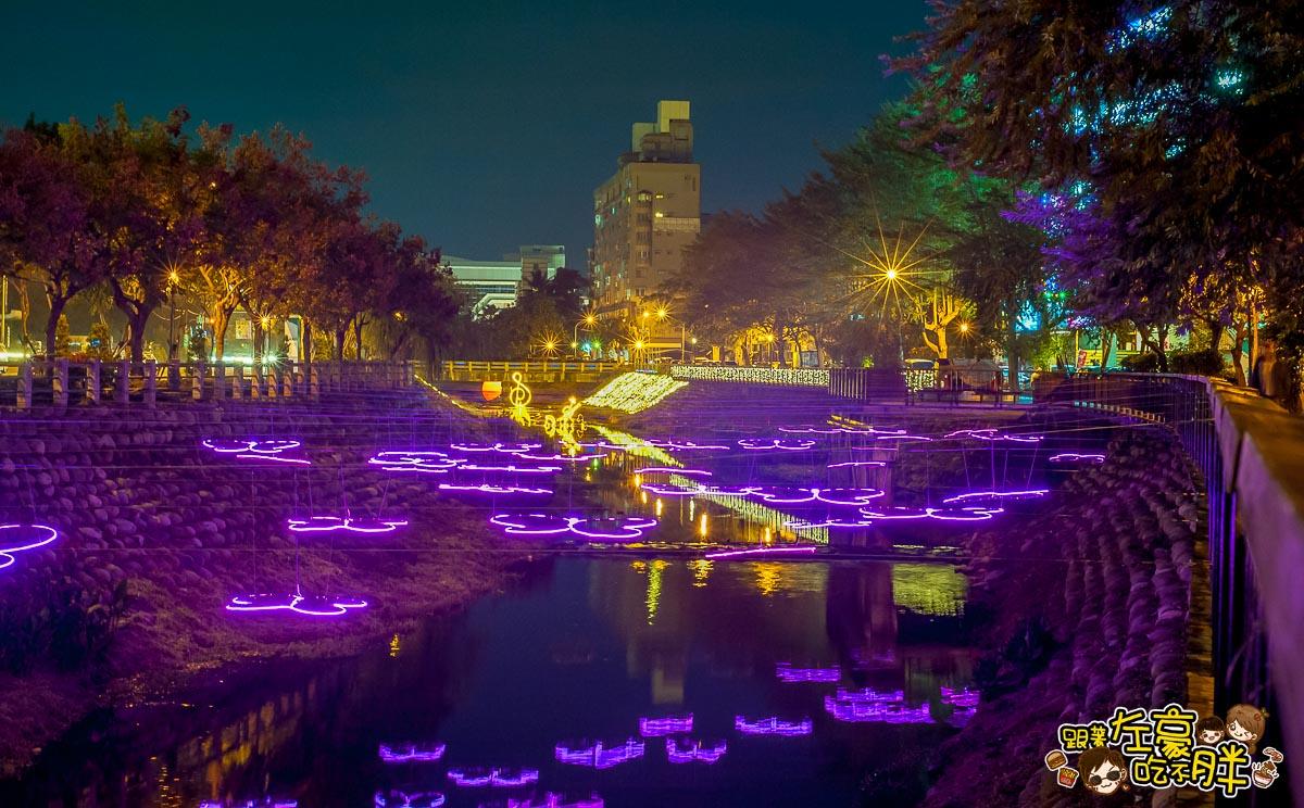 [屏東過年旅遊] 2018屏東綵燈節 萬顆LED照亮千禧公園與萬年溪畔 – 跟著左豪吃不胖