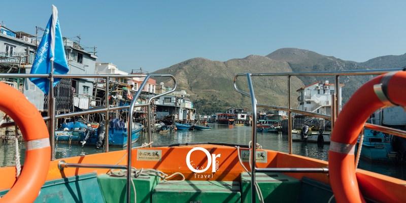 香港景點 大澳漁村,一探香港大嶼山的魅力,獨特的棚屋景觀,搭乘小艇在水道中穿梭回到舊時光吧!