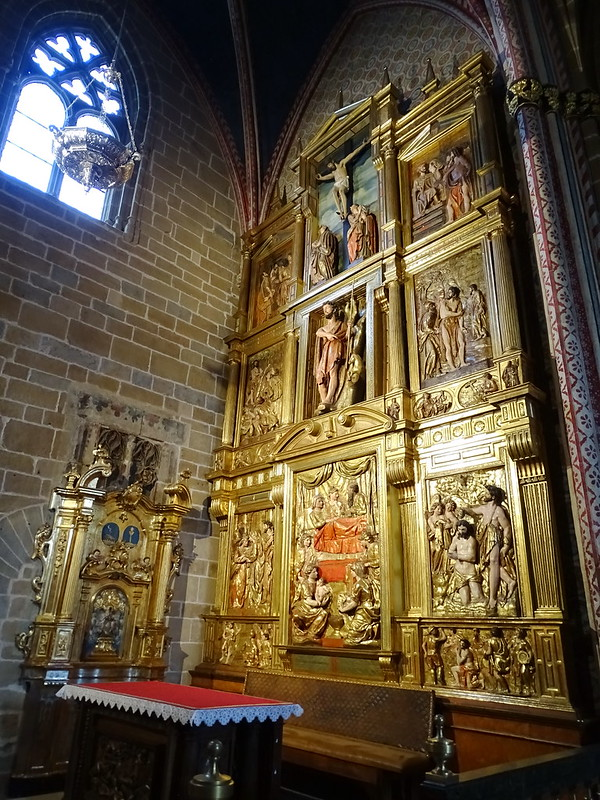 Retablo Capilla de san Juan Bautista Catedral de Santa Maria La Real Pamplona 02
