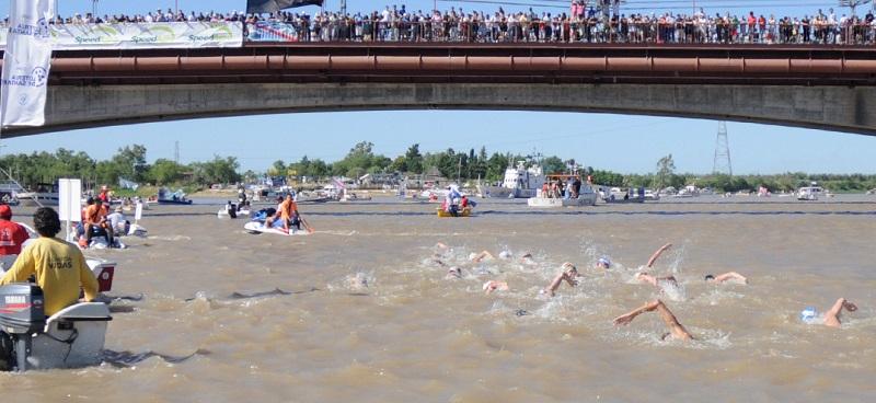 UltraMarathon Swim Series 2018 #1: tanto azzurro in Argentina alla Santa Fè – Coronda
