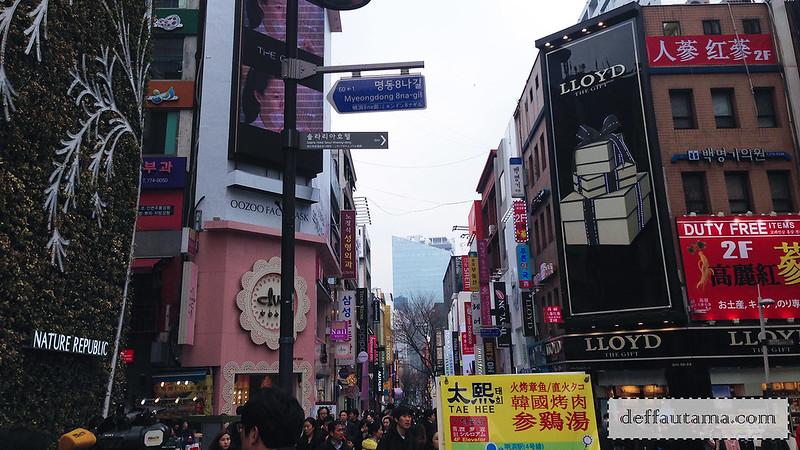5 hari di Seoul - Myeongdong
