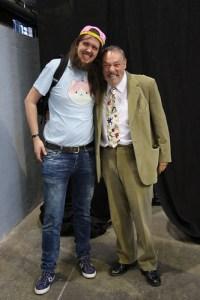 Bert and John Rhys-Davies