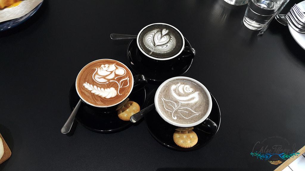 Black Latte, Sesame, Chocolate, Ampersand Specialty Coffee, Bandaran Berjaya, Kota Kinabalu, Sabah, Malaysia, Chloe Tiffany Lee