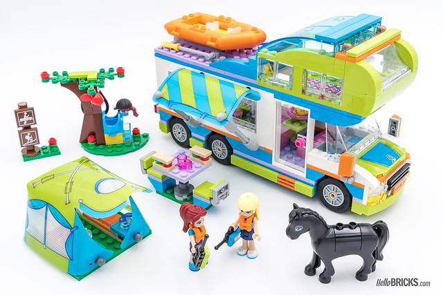 REVIEW LEGO Friends 2018 - LEGO 41339 Mia's Camper Van