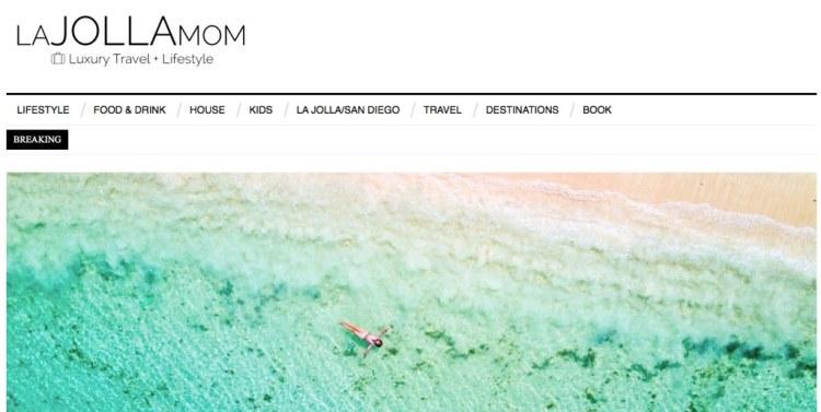 La Jolla Mom blog