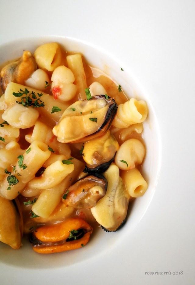 pasta cozze fagioli ricetta classica