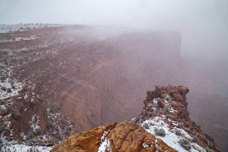 Island Snowstorm