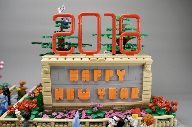 Lego Happy New Year 2018
