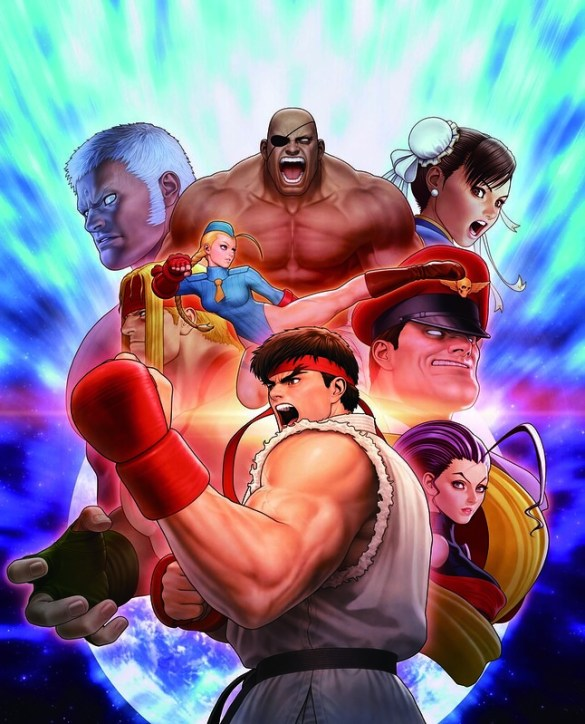 Street Fighter 30th Anniversary Collection Poster