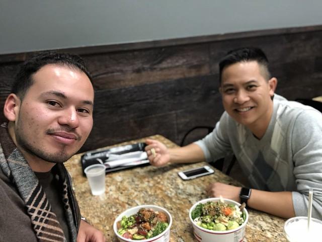 Albert and I