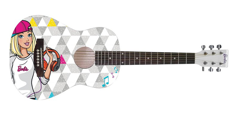 BARBIE DBA ACOUSTIC GUITAR