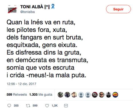 17l12 Sobre Inés Arrimadas Uti 465