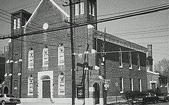 Washington, D.C. Shiloh Baptist Church: 1970 ca.