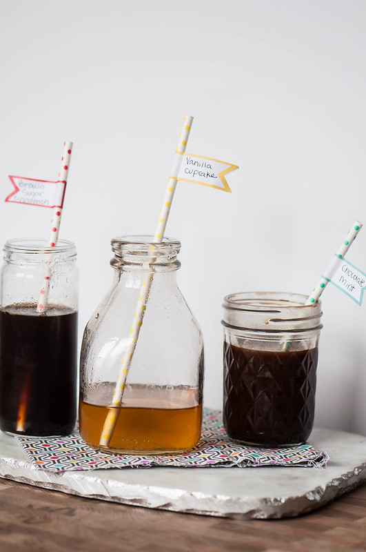 Homemade Coffee Syrups