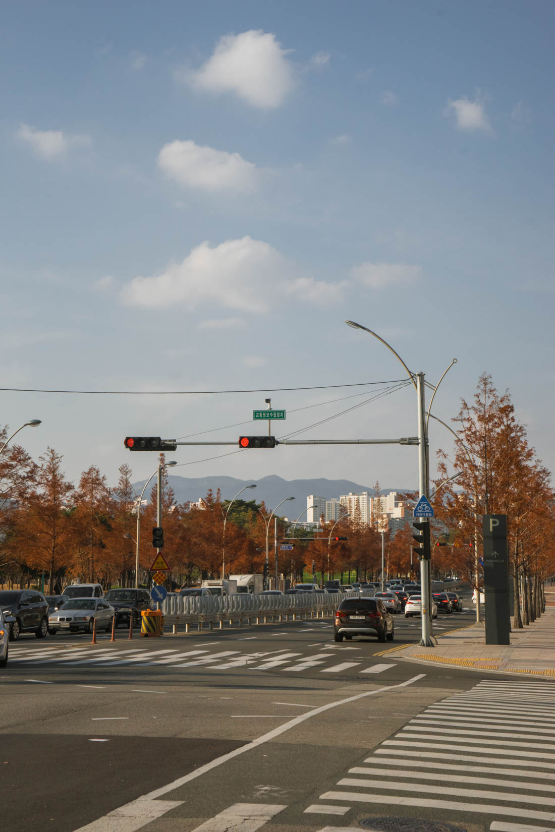 Shinsegae Centum City autumn in busan korea