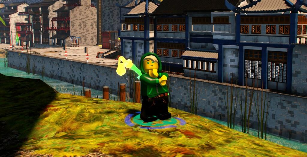 Last LEGO Ninjago Movie Videogame character - BrickSamurai