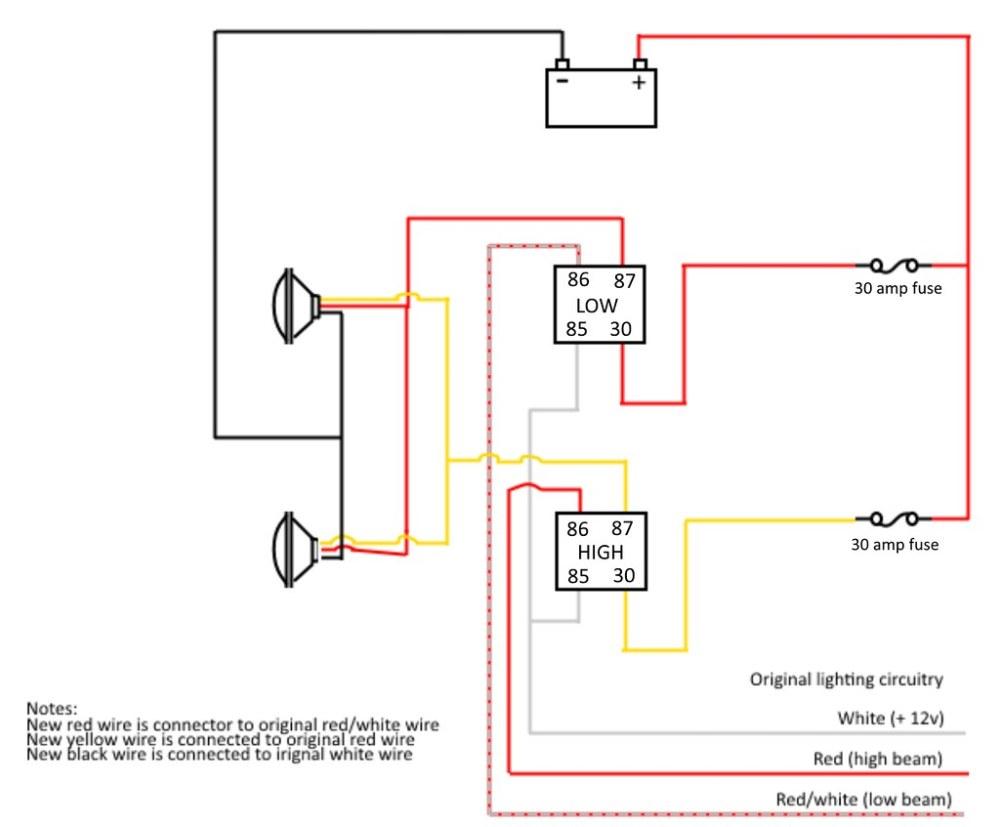 medium resolution of is this headlight wiring upgrade daigram correct geo metro forum89 geo metro headlight wiring diagram