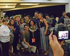 "Engineering graduates celebrate with family and friends during the college's convocation ceremony on December 15.   For more photos go to the college's Flickr site at:  <a href=""https://www.flickr.com/photos/eaauh/albums/72157689598757311"">www.flickr.com/photos/eaauh/albums/72157689598757311</a>"