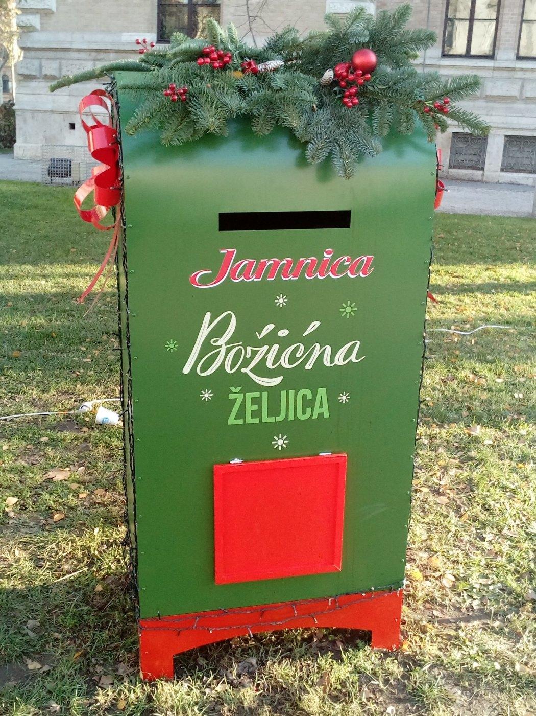 Zagreb Santa's Mailbox