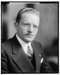 Fred Hartley of anti-labor Taft-Hartley Act: 1940 ca.