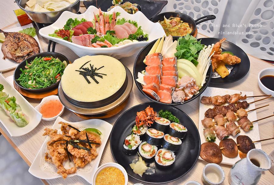 熱血採訪|雲鳥日式料理 火鍋,生魚片,炸物,定食,串燒,大推舒芙蕾烏龍麵 – 熱血臺中