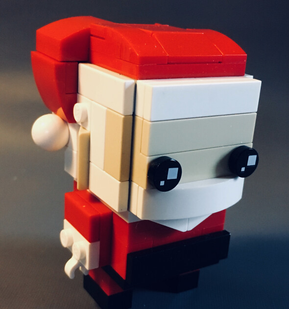 Build Your Own Brickheadz Santa Instructions The Brothers Brick