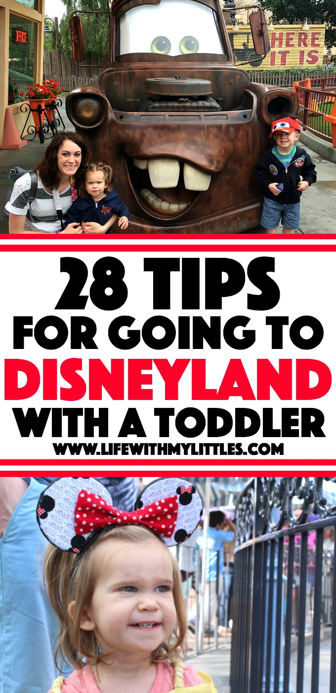 28 Tips for Going to Disneyland with Toddlers - Life With ...