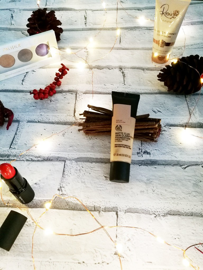 The Body Shop Matte Clay Foundation Review Cruelty Free