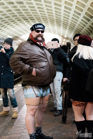 No Pants Metro Ride 2018