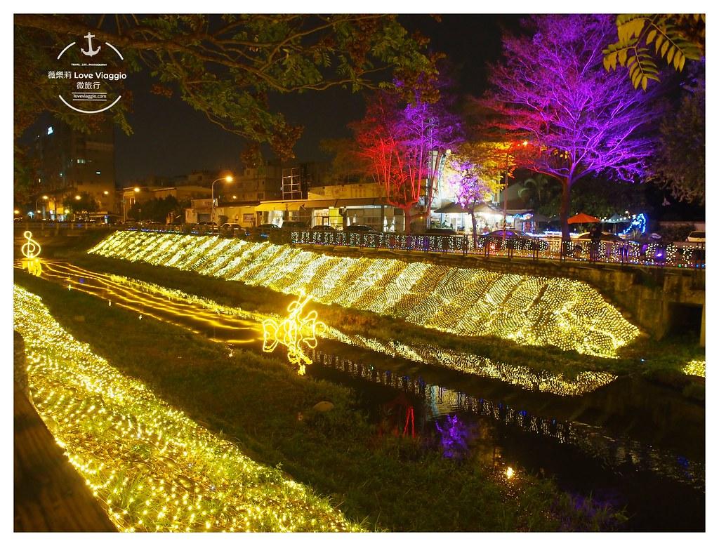 【屏東Pingtung】2018綵燈節 燈景藝術照亮萬年溪千禧公園 奇幻絢麗的螢光海 - 輕旅行