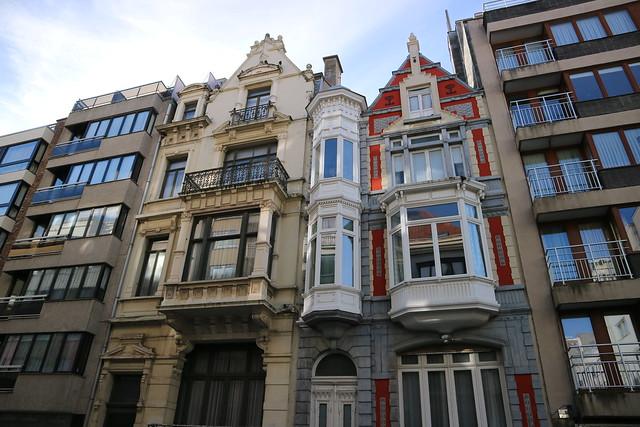 Opmerkelijke gevels in Oostende (4)