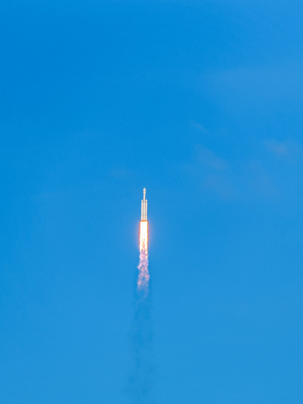 SpaceX 1st Falcon Heavy Launch