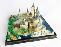 Microscale LEGO Hogwarts paints the scene for Harry Potter ...