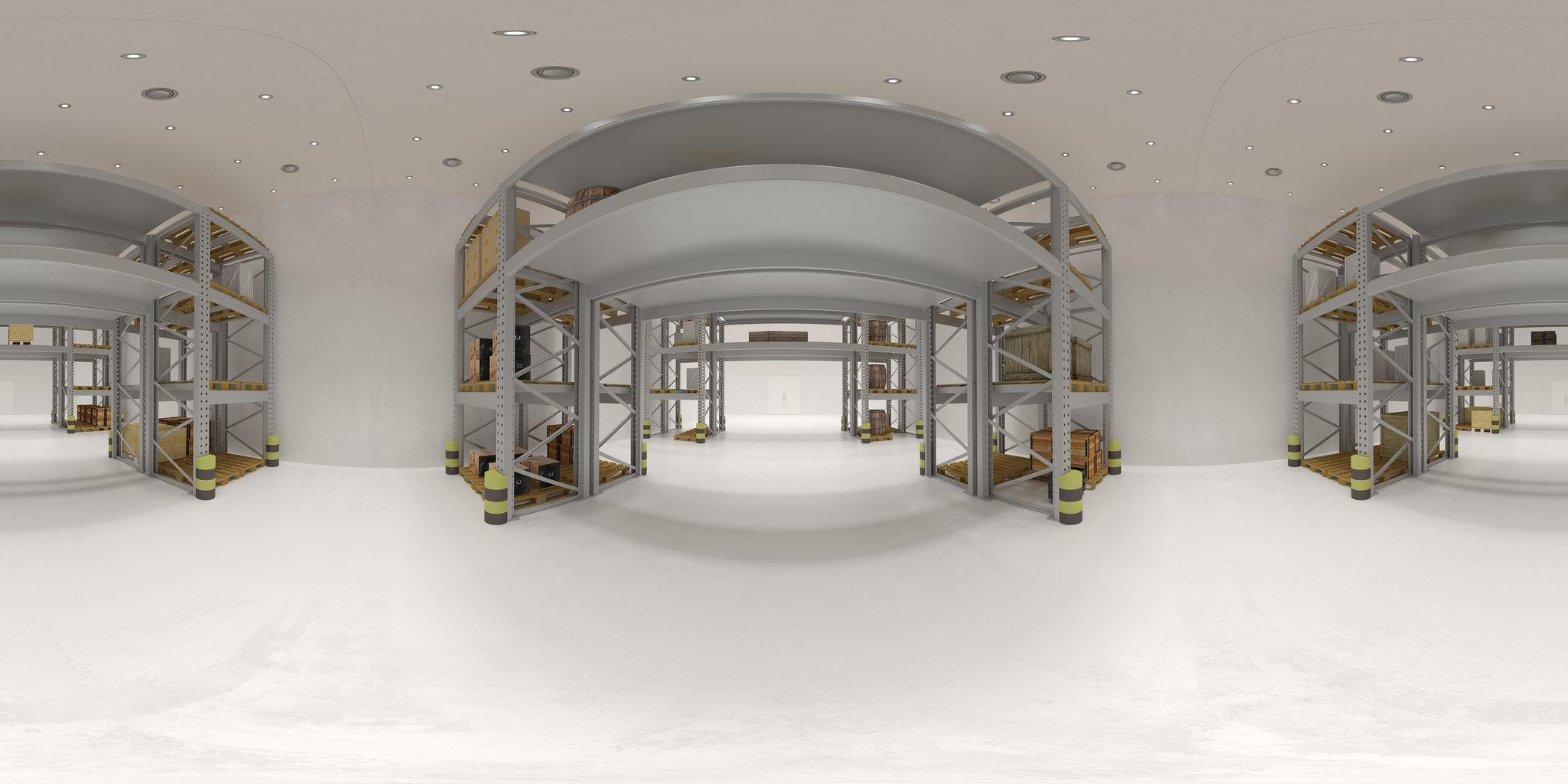360 Bruynzeel museum storage room
