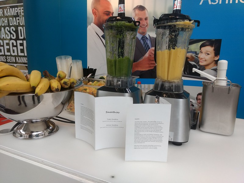 2018 Jobvector München Smoothie Catering