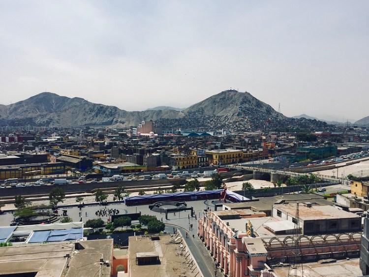 Las afueras de Lima