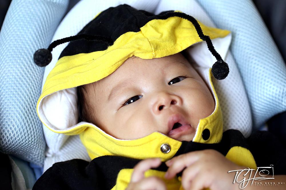 baby Kayden photoshoot