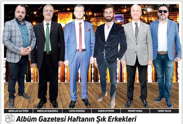 Abdullah Alp Üzüm, Abdullah Karaoğlu, Cafer Aydoğan, Harun Aytemur, Mehmet Kural, Tamer Yalçın