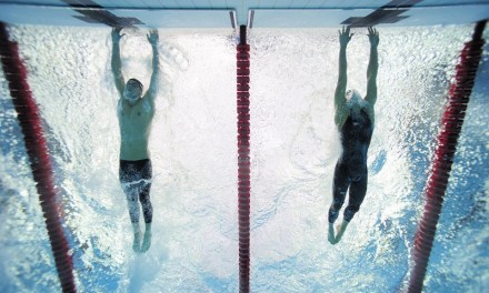 Pechino 2008, Phelps vs Čavić: the fingertip GOLD