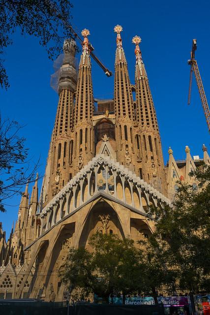 Rear of La Sagrada Familia