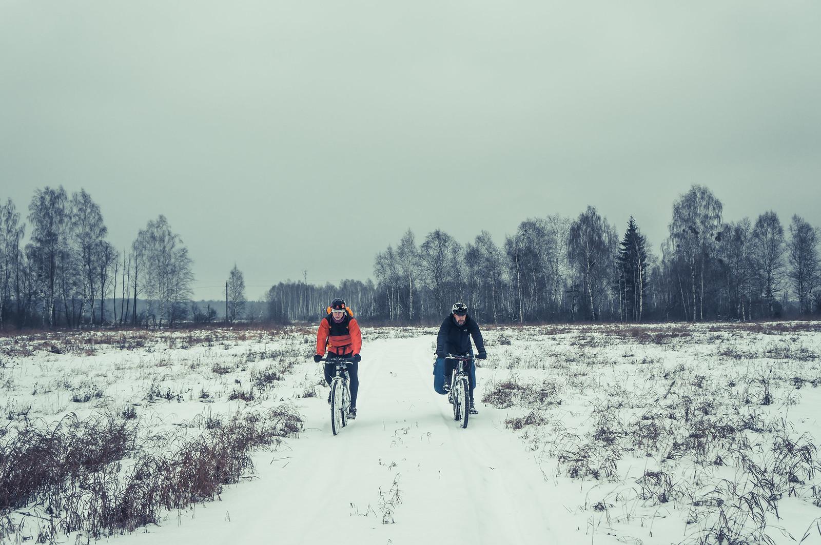 """Зимний велопоход """"Las may Proscie"""" 2018"""