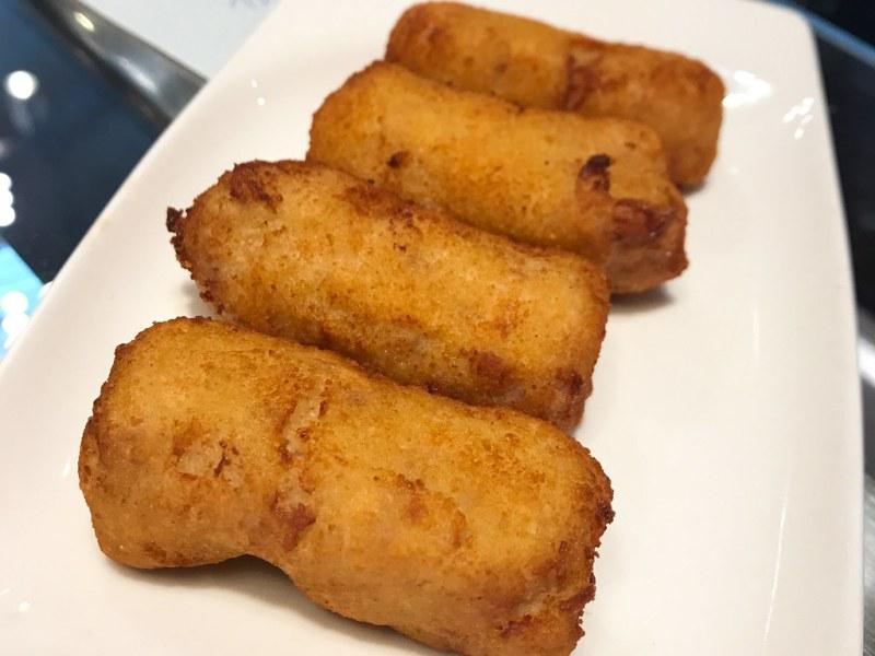 Chicken and Ham Croquetas ($8)