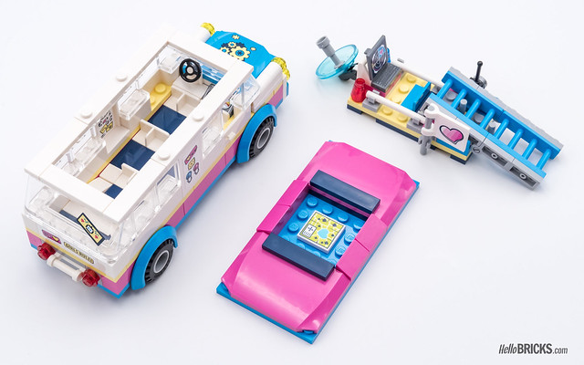 REVIEW LEGO Friends 2018 - LEGO 41333 Olivia's Mission Vehicle 3