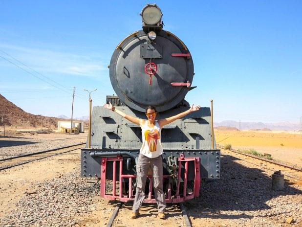 Estación de tren en Wadi Rum