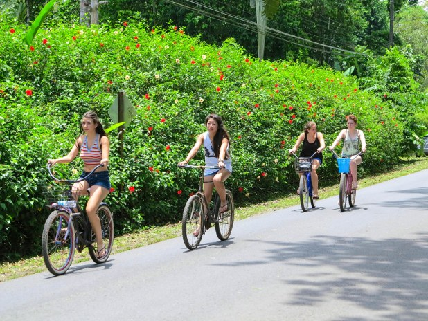 Paseo en bicicleta por Puerto Viejo